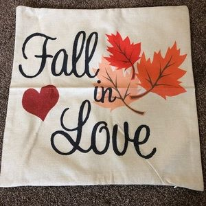 Accents - Fall In Love Pillow Cover